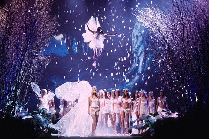 **7. The first broadcast was actually a webcast in 1999.** For the first four years, the Victoria's Secret Fashion Show wasn't filmed. Then, in 1999, it was streamed live on Broadcast.com, and now it has become one of the most anticipated TV events of the year.