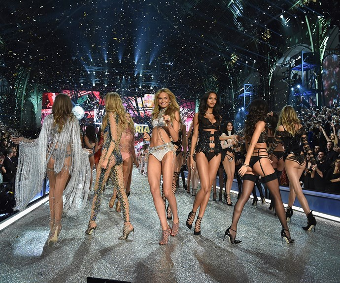 **1. The show is filmed twice.** In order to create the best version of the show possible, the Victoria's Secret Fashion Show is filmed twice, and then footage from both is edited together from different angles for the final TV version.
