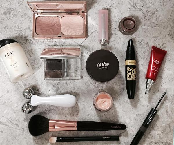 Jesinta Franklin's go-to beauty products