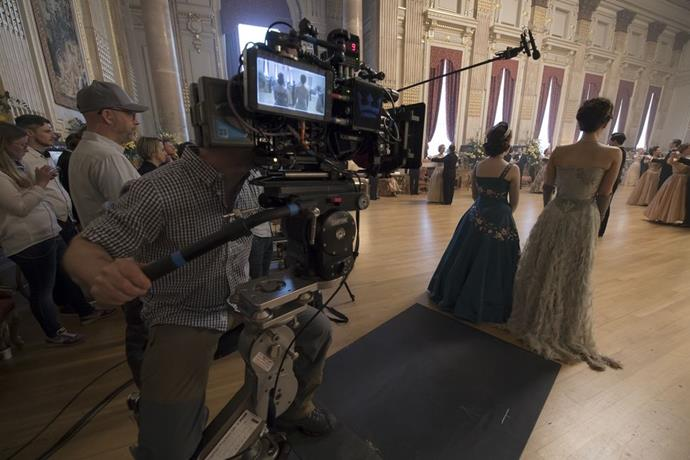**Season 2 Episode 4** <br><br> Claire Foy and Vanessa Kirby behind the scenes.