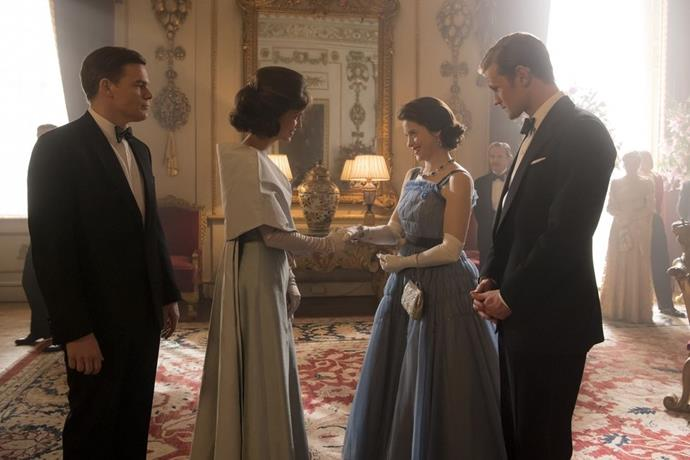 **Season 2 Episode 8** <br><br> President John F. Kennedy, Jacqueline Kennedy, Queen Elizabeth, and Prince Philip