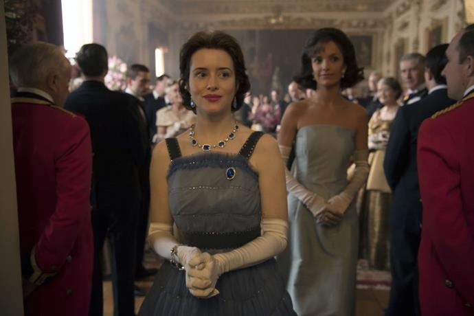 **Season 2 Episode 8** <br><br> Jacqueline Kennedy and Queen Elizabeth