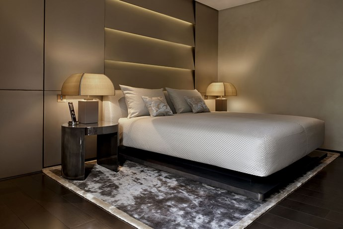 "**Armani Hotel Milan** <br><Br> The Armarni luxury hotel contains 95 rooms which are all extensions of the Giorgio Armani brand. The simplistic, yet remarkably chic interiors include muted colour schemes and are equipped with sleek and classic furniture. There is also an Armani Hotel in Dubai.  <br><br> Image via [Armani Hotel Milan](  http://www.armanihotelmilano.com/en/stay/ |target=""_blank"")."