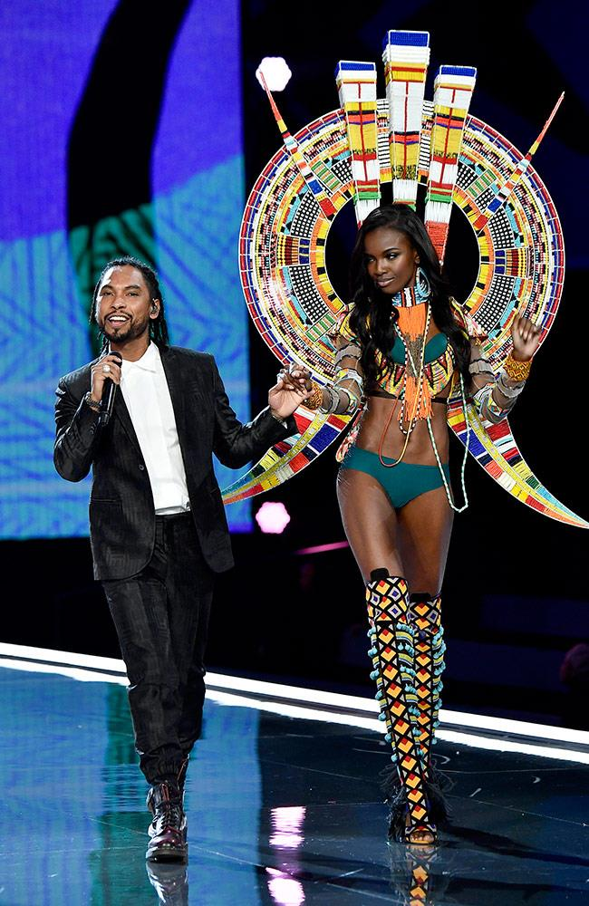 Miguel and Leomie Anderson