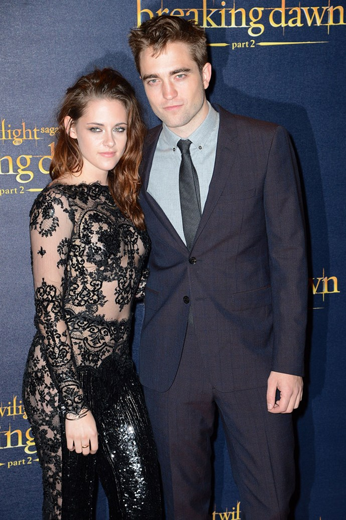 **Kristen Stewart, Rupert Sanders and Robert Pattinson** <br><br> In July 2012, Kristen Stewart made headlines for cheating on her boyfriend and co-star Robert Pattinson with her *Snow White and the Huntsman* director, Rupert Sanders—he was married at the time. Stewart later publicly apologised to Pattinson and they resumed their relationship, however, later that year split. Stewart is now dating Victoria's Secret model Stella Maxwell.