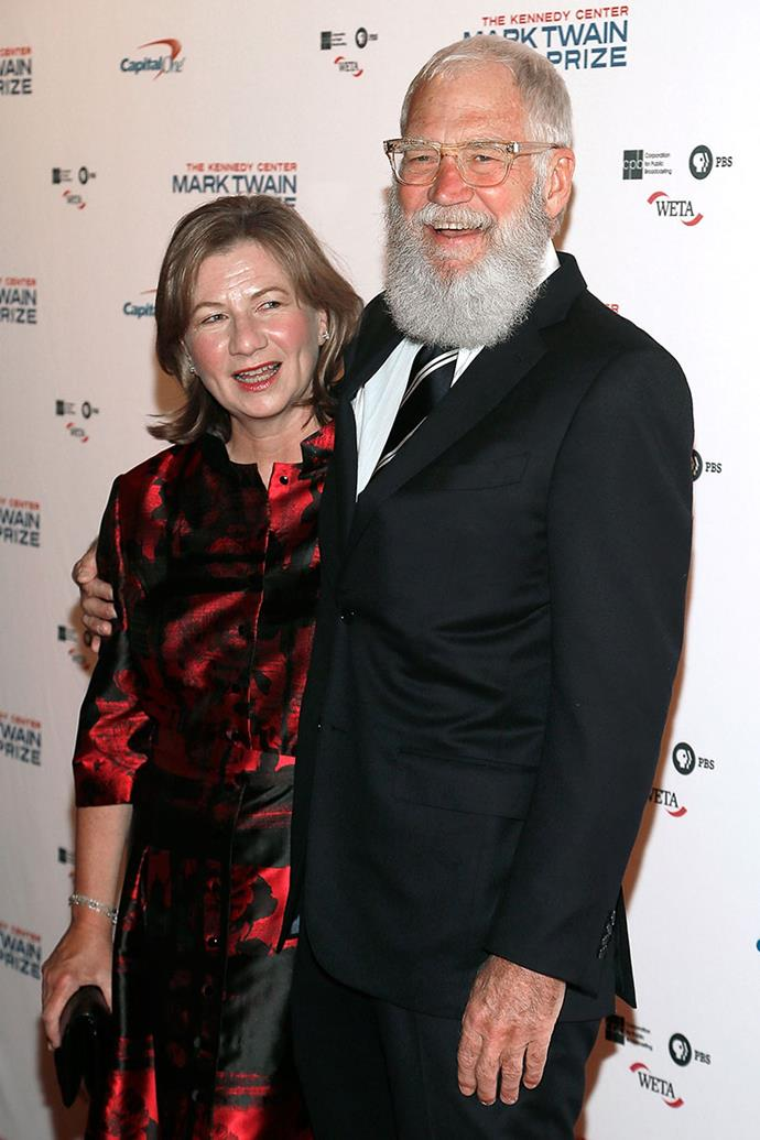 "**David Letterman and Regina Lasko** <br><br> In 2009, six months after marrying long-time girlfriend Regina Lasko, *The Late Show* host admitted to being involved in a sex scandal. He admitted on the show that he ""had sex with women who work for me on this show."" He later spoke to Oprah about dealing with the fallout from cheating on his wife and mother of his son: ""I'm still trying to fix it."""