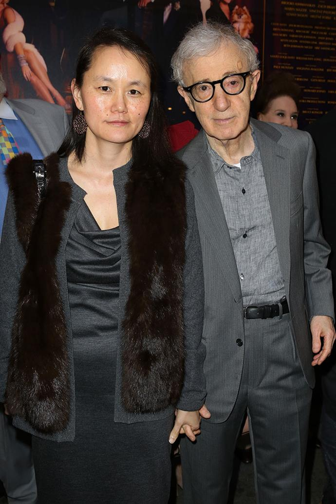 "**Soon Yi Previn and Woody Allen** <br><br> In 1992, Woody Allen began an illicit affair with Soon-Yi Previn, the adopted daughter of his long-time girlfriend Mia Farrow. The affair was discovered by Farrow after she found raunchy nude photos of Soon-Yi, which were taken by Allen. The director was highly criticised by the media and public, by which his defence was that ""the heart wants what it wants."" Allen and Previn later married in 1997, and have adopted two daughters together."