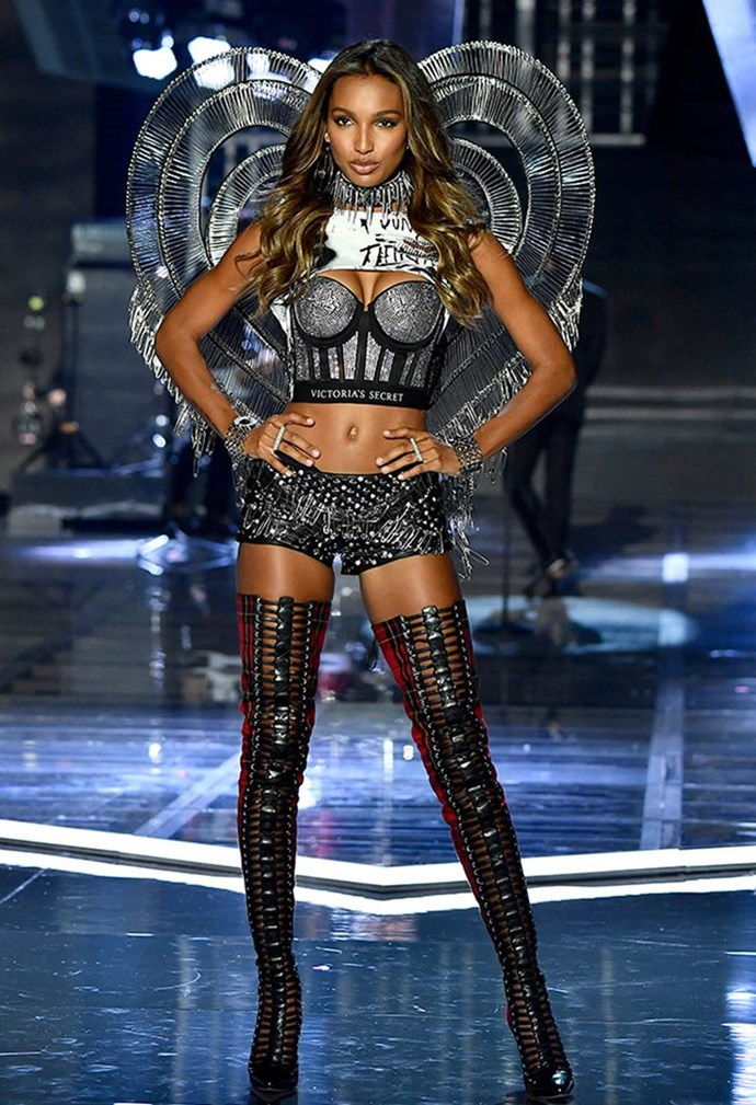 "**Jasmine Tookes:** ""The first thing I'll eat after a show is pepperoni pizza, because we always have a really fun pizza party."""
