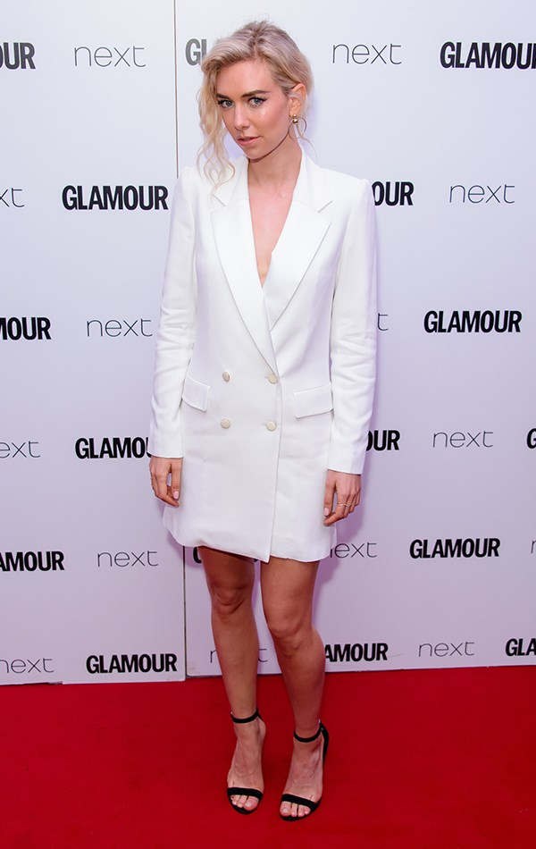 At the *Glamour* Women of the Year Awards, 6th June 2017