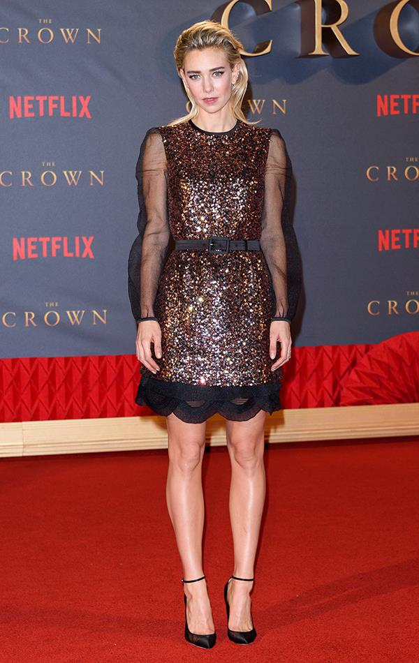 At *The Crown* Season 2 World Premiere, 17th November 2017.
