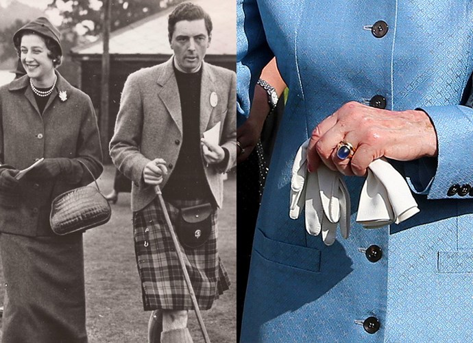 **Princess Alexandra of Kent**<br><Br> In 1963, Princess Alexandra (Queen Elizabeth's cousin) received a large cabochon sapphire set in gold from Sir Angus Ogilvy. Their wedding was watched by more than 200 million people.