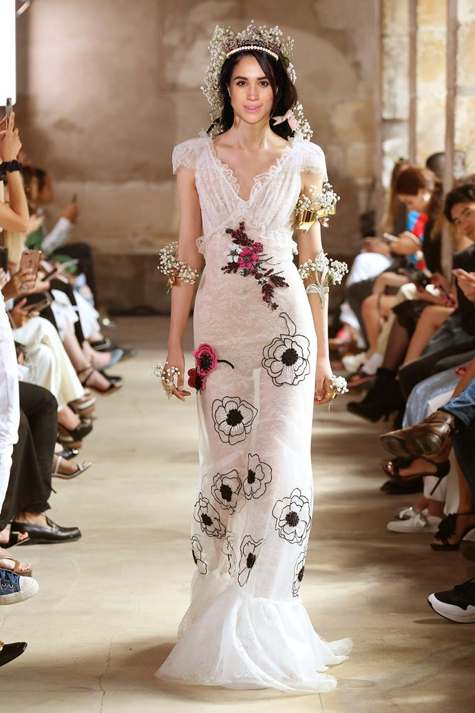 ***Rodarte***<br><br> If Meghan wanted to explore a more feminine edge, American designers Rodarte would also be a good choice. Their romantic designs would go well with Windsor Castle's garden scenery.