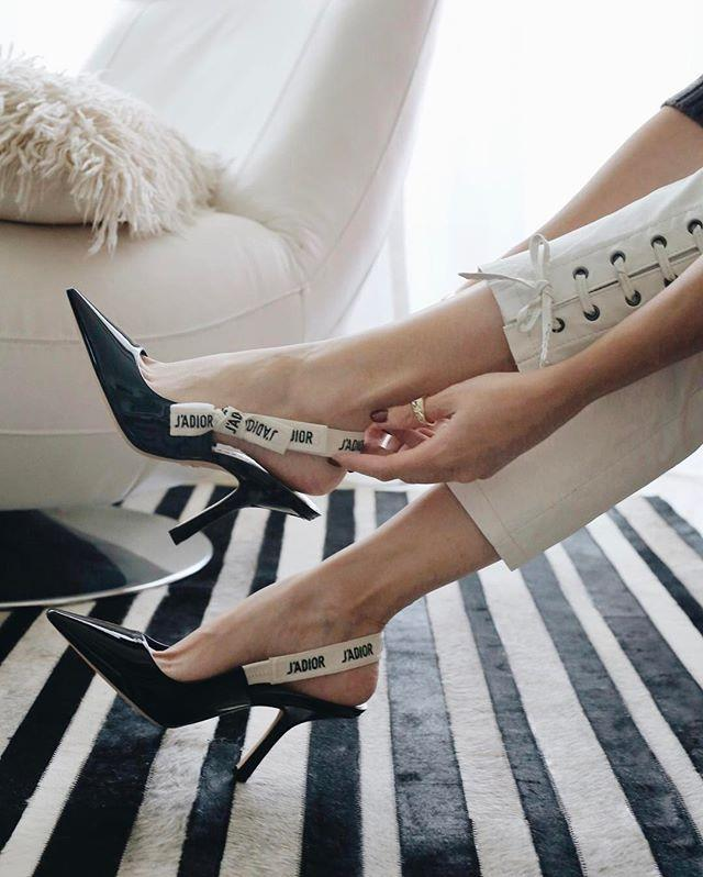 """**Dior's J'Adior Slingbacks** Near impossible to get your hands on, [Dior's D'Adior slingback pumps](https://www.harpersbazaar.com.au/fashion/shoes-celebrities-love-2017-14596