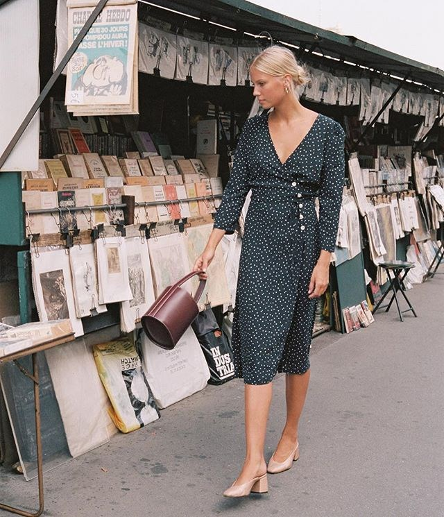 "**The Rouje Dress** Last but not least, [Rouje's wrap dress](https://www.elle.com.au/snapped/rouje-dress-14550|target=""_blank"") typified the fashion world's fascination with French girl style."
