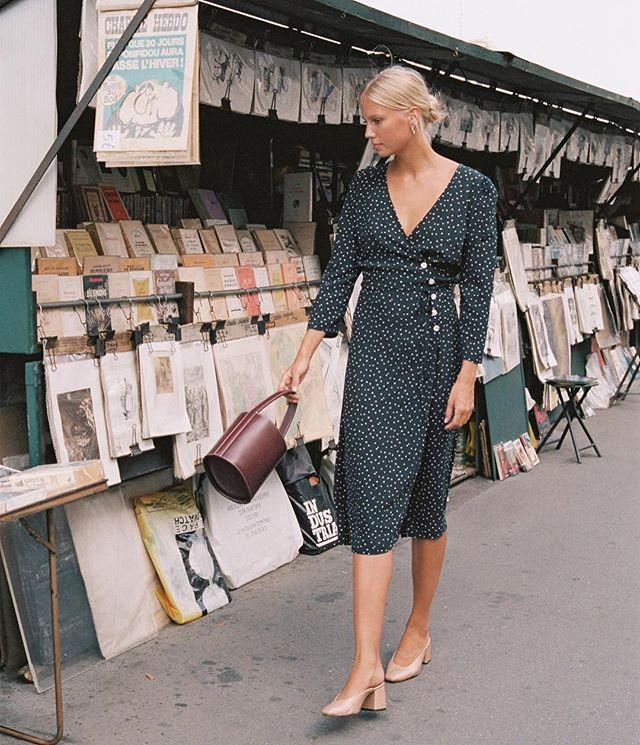 """**The Rouje Dress** Last but not least, [Rouje's wrap dress](https://www.elle.com.au/snapped/rouje-dress-14550