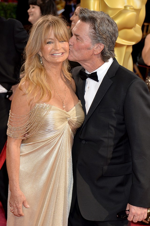 "**Goldie Hawn and Kurt Russell** <br><br> Hawn and Russell have been happily unmarried for 34 years. In an interview with [*People*](http://people.com/movies/goldie-hawn-reveals-secrets-of-love-with-kurt-russell/|target=""_blank""), Hawn revealed the secrets to their Hollywood romance. ""Love, gratitude, compassion, because sometimes every man or every woman will drive their partner crazy. Family. Fun. Laughs. Sex,"" Hawn said. ""If you don't nurture that, and remember, you're done."""