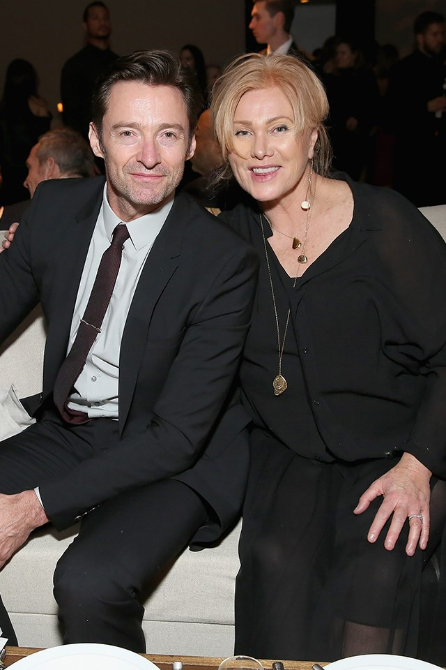 "**Hugh Jackman and Deborra-lee Furness** <br><br> Jackman and Furness were married in 1996, and have adopted two children together. Asked for the secret to their 21-year marriage, Jackman told [*People*](http://people.com/movies/hugh-jackman-deborra-lee-furness-secret-to-marriage-meditation/|target=""_blank""), ""Meditation!"" Furness elaborated, ""We meditate together. And sometimes we have friends over to do it, too. It's a lovely Sunday-morning thing. Everyone comes over, and then we have breakfast."""