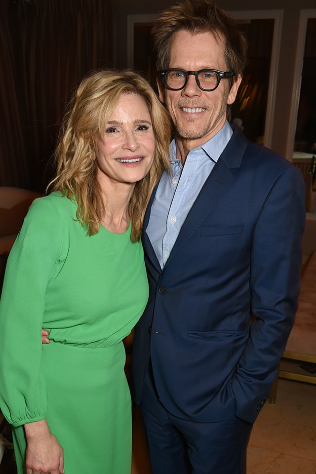 "**Kevin Bacon and Kyra Sedgwick** <br><br> Bacon and Sedgwick tied the knot in 1988. Almost 30 years of marriage and two kids later, the couple exchange sweet messages on social media for their anniversaries, and have even shared a glimpse of what their [everyday texts](https://www.instagram.com/p/BYotPqQlmrw/|target=""_blank"") look like. So what's their secret? ""Well—I'm going to embarrass my kids—sex is important,"" Sedgwick told [*Redbook*](http://www.redbookmag.com/life/interviews/a13662/kyra-sedgwick-kevin-bacon-the-closer-interview/