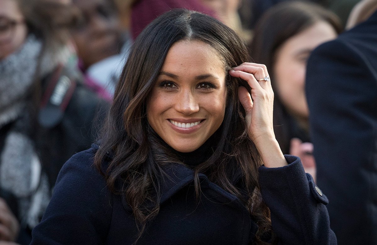 What Meghan Markle's Hair-Touching Habit Says About Her