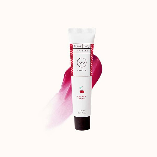 """**Cherry Bomb Lip & Cheek Tint, $11.95 at [Frank Body](https://www.frankbody.com/au/products/cherry-bomb-lip-tint/