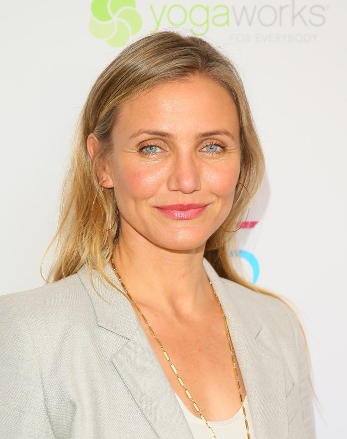 """**9. Cameron Diaz** <br><br> """"Cameron is one of Hollywood's most enduring beauties—she looks better as she gets older thanks to those cheekbones."""""""