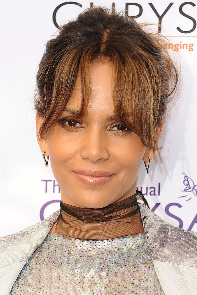 """**8. Halle Berry** <br><br> """"Halle has a natural plumpness to her cheeks."""""""