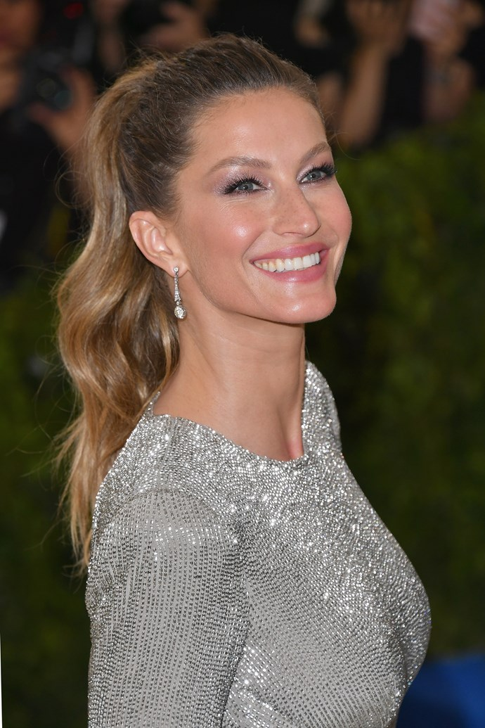 """**6. Gisele Bundchen** <br><br> """"She was the world's most successful supermodel for several years and those cheeks had a lot to do with it."""""""