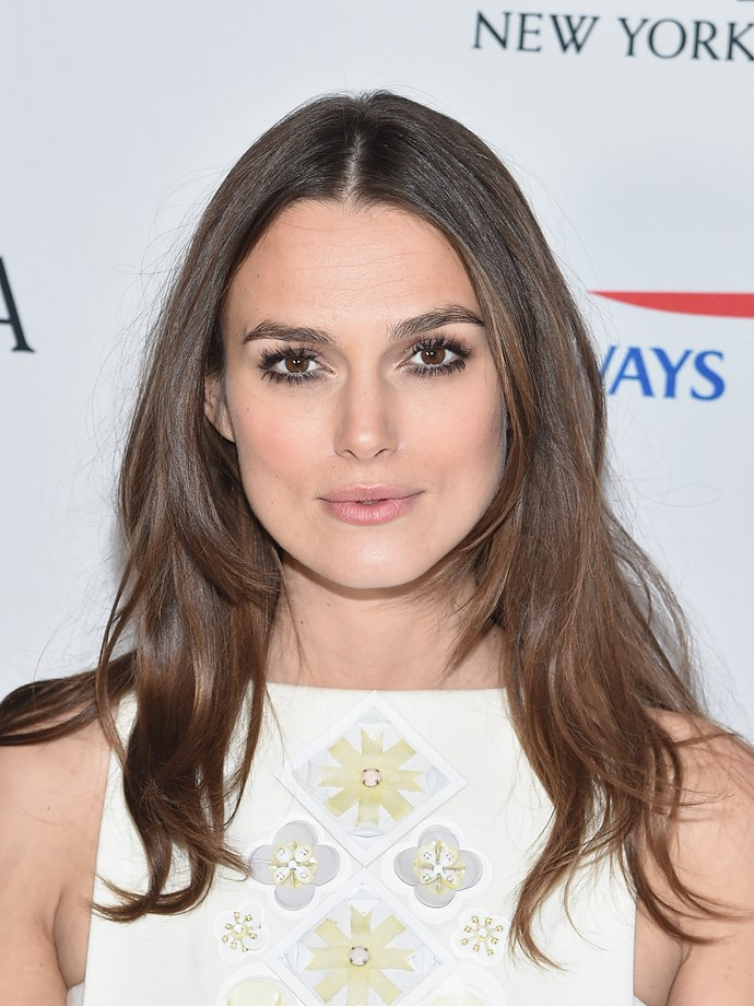 """**1. Keira Knightley** <br><br> """"They are the first thing you notice about Keira's face and give her an ageless beauty which will endure right throughout her career."""""""