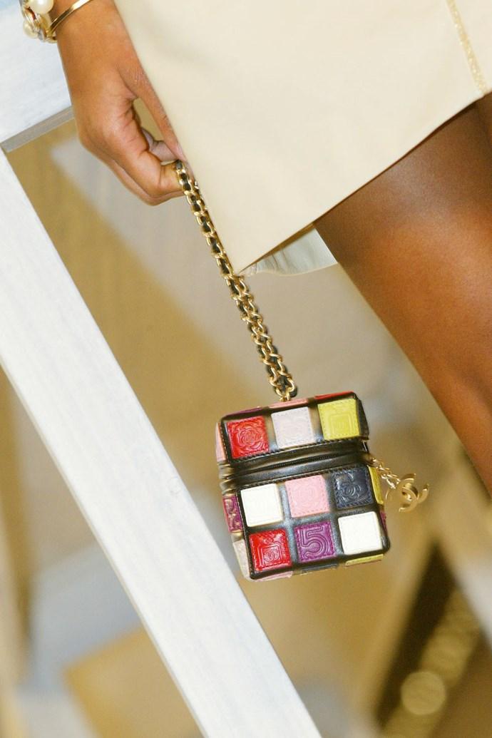 **Chanel spring summer '04** <br><br> Rubik's Cube Bag.