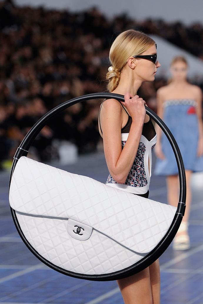 **Chanel spring summer '13** <br><br> Hula Hoop Bag.