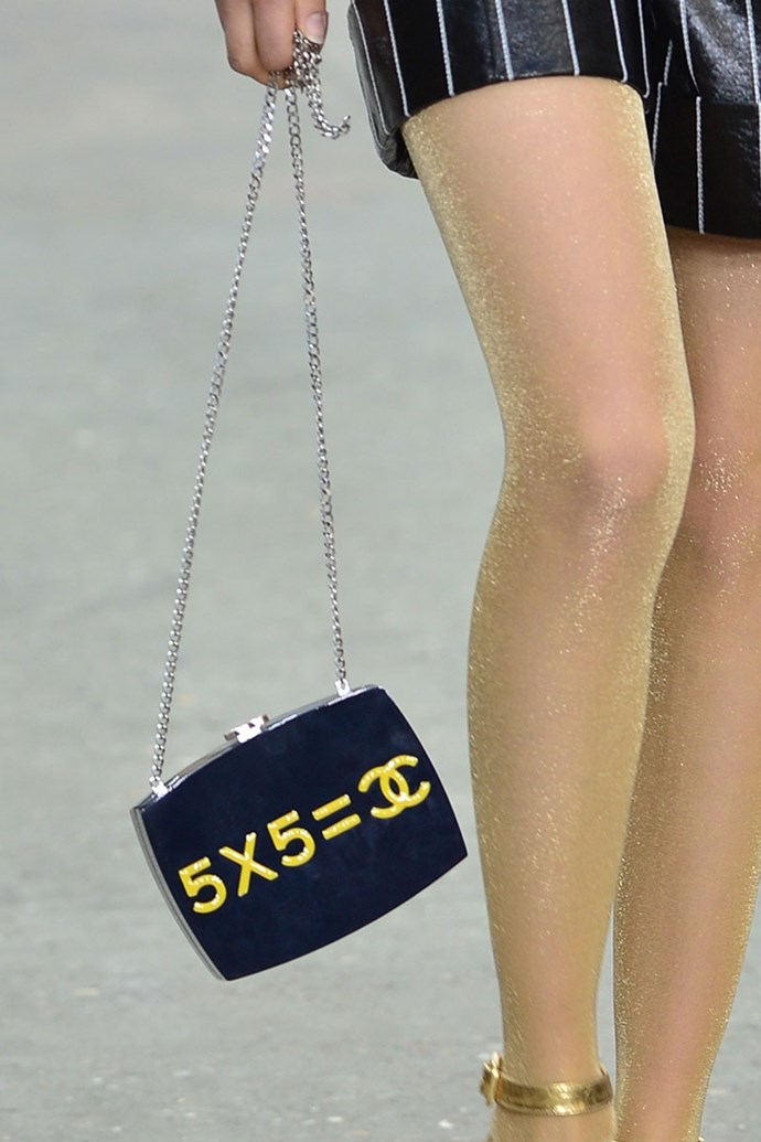**Chanel spring summer '15** <br><br> Evening In The Street Bag.