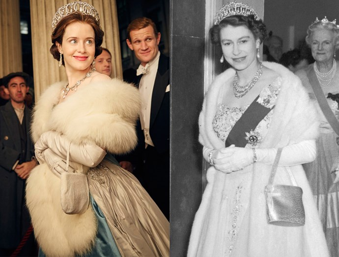 ***The Queen's Opera Ensemble***<br><br> For the show, the costume designers got this one down pat, from the fur stole to the Grand Duchess Vladimir Tiara.