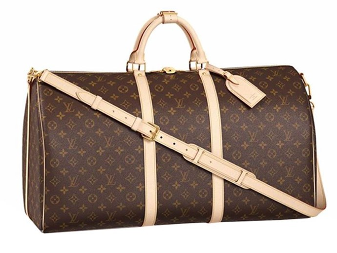 "**Louis Vuitton Overnight Bag**  Bag, $2,350 at [Louis Vuitton](http://au.louisvuitton.com/eng-au/products/keepall-bandouliere-60-monogram-000702|target=""_blank"")"