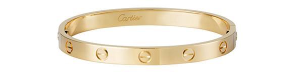 "**Cartier Love Bracelet**  Bracelet, $8,800 at [Cartier](http://www.au.cartier.com/en-au/collections/jewelry/collections/love/bracelets/b6035517-love-bracelet.html?mid=23002qb26009&mkwid=s_dc&pcrid=205015084489&kword=&match=&plid=&gclid=EAIaIQobChMIl-ij3fWA2AIVSh0rCh2fsgGGEAQYASABEgJgsfD_BwE|target=""_blank"")"