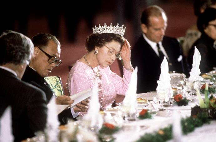 "***ONE MUST NEVER EAT SHELLFISH***<br><Br> ""This is an ancient tradition that Royals have followed to avoid food poisoning. Queen Elizabeth adheres to the rule but the current royal family isn't required to,"" said Hardy of the no-shellfish rule."