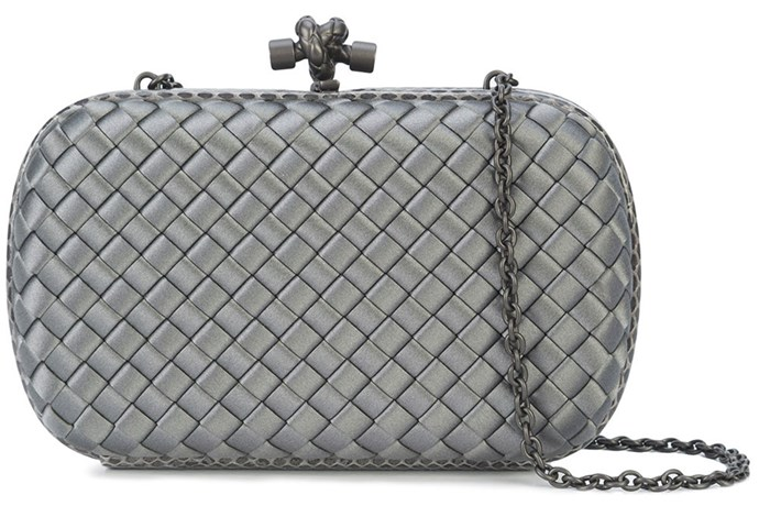 "**Bottega Vaneta Knot Clutch** <br><br> $3,370, available at [FarFetch](https://www.farfetch.com/au/shopping/women/bottega-veneta-knot-clutch--item-12560234.aspx?storeid=9610&from=listing&tglmdl=1|target=""_blank"")."
