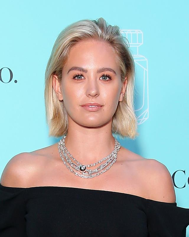 **The blonde bob** <br><br> In one of her most dramatic transformations yet, Franklin showed off a fresh blonde bob at the Tiffany & Co. fragrance launch.
