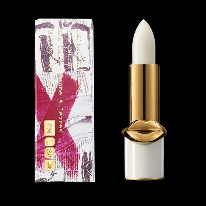 **Lip Fetish Lip Balm, $38 at [PatMcGrath.com](https://www.patmcgrath.com/products/lip-fetish?variant=2731519475736).**