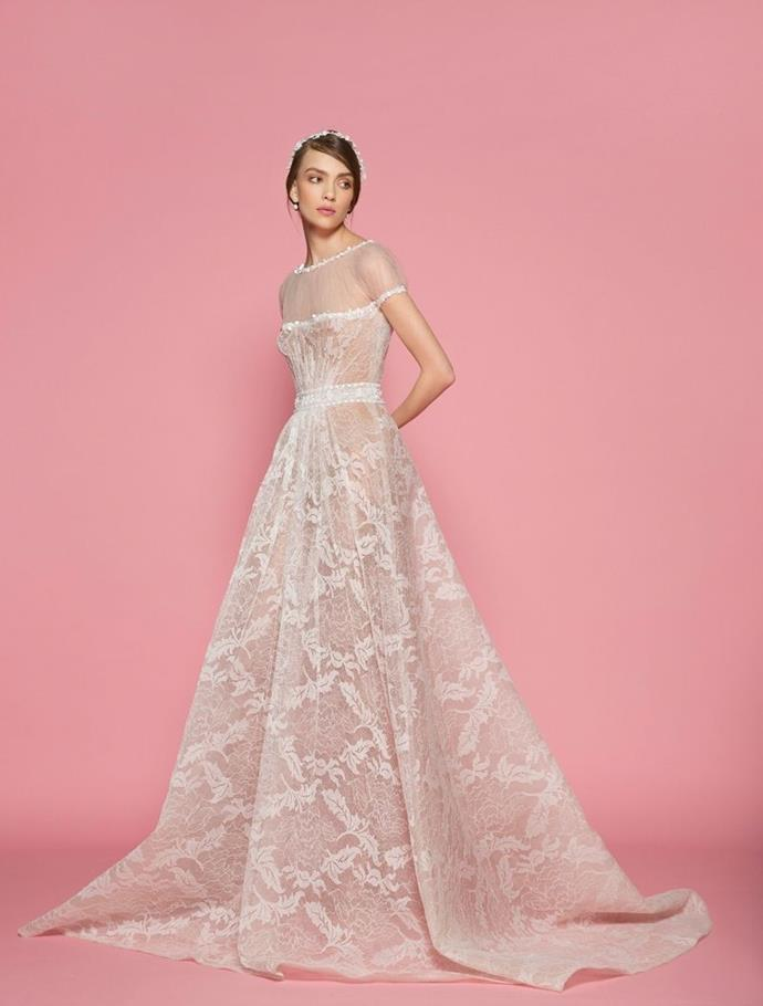 """**GEORGES HOBEIKA** <br><br> Dream scenario? When a designer who has experience creating Haute Couture designs for the bride in a more widely-available, yet still incredibly high-end way.  <br><br> Elie Saab and Viktor & Rolf have managed to tow the line between their Haute Couture, Ready-to-Wear and uniquely bridal offerings and Beirut-based [Georges Hobeika](http://georgeshobeika.com/
