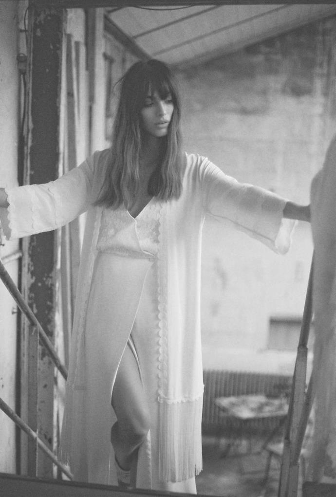 """**ELISE HAMEAU** <br><br> There's a new wave of gamine, Parisian cool sweeping the bridal world, and key names like Rime Arodaky, Donatelle Godart, Laure de Sagazan and [Elise Hameau](http://elisehameau.com/
