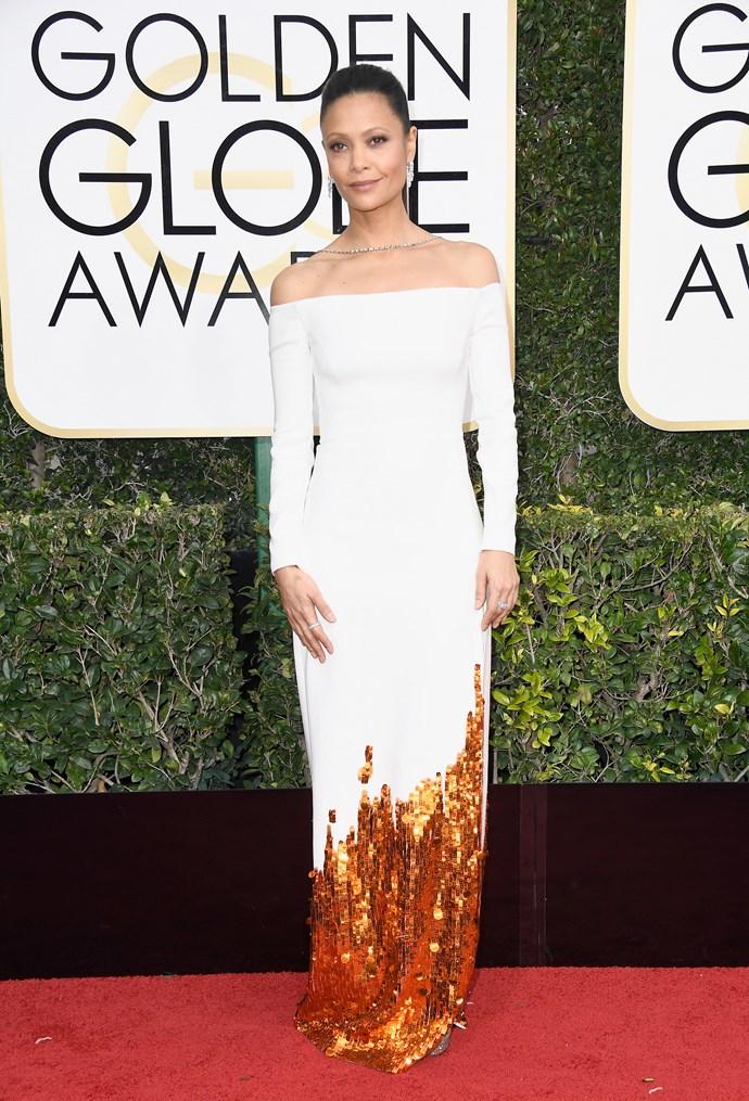 **Thandie Newton in 2017**<br><br>  In Monse.