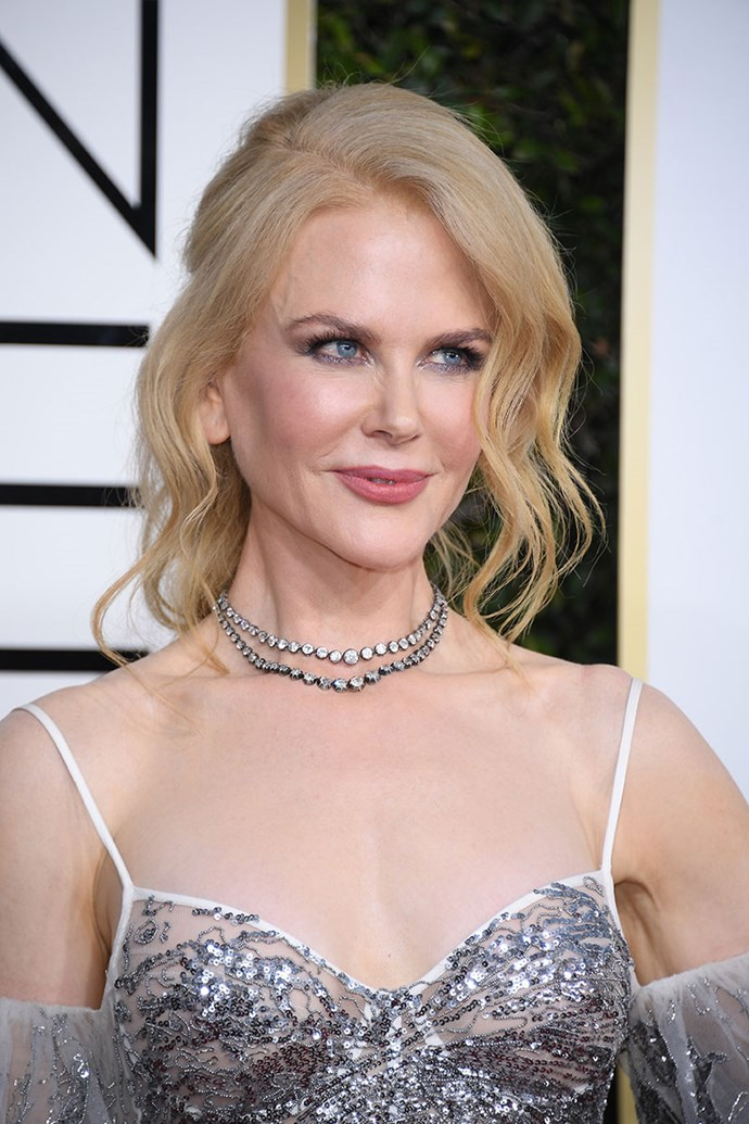**NICOLE KIDMAN** <br><br> Nicole Kidman proved that bright and luminous skin is a game-changer on the red carpet in 2017.