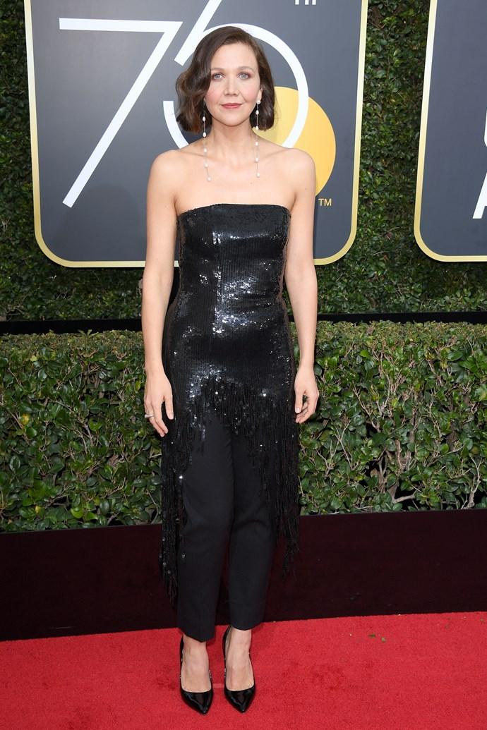 Maggie Gyllenhaal in Monse.