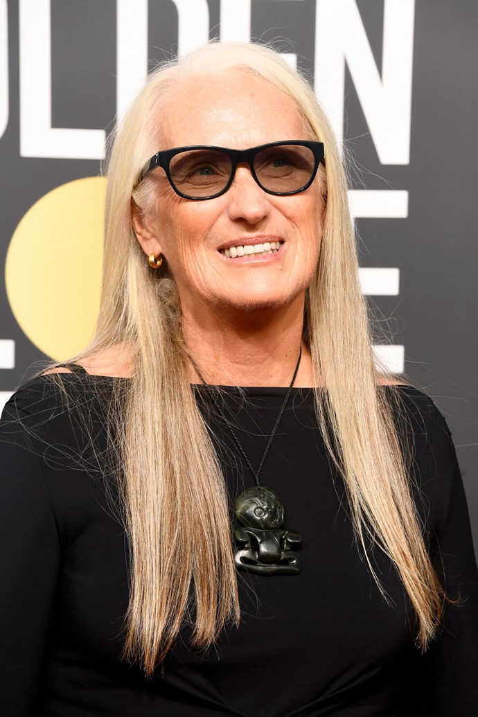 **Jane Campion** <br><br> *Top of the Lake* screenwriter, Jane Campion, kept her beauty look almost totally bare bar a subtle glow, allowing her feminist message to shine through.