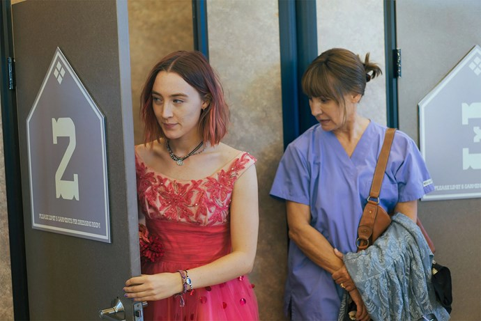 **FILM: *Lady Bird*** <br><br> *Lady Bird* explores the turbulent relationship between a teenager, Christine 'Lady Bird' McPherson (Saiorse Ronan), and her mother, Marion (Laurie Metcalf). <br><br> **Awards include:** Best Motion Picture – Musical or Comedy and Best Actress in a Motion Picture – Musical or Comedy for Saorise Ronan at the Golden Globes. Director Greta Gerwig wasn't even nominated despite leading the film to two massive wins. <br><br> **How to watch:** *Lady Bird* releases in cinemas on February 15.