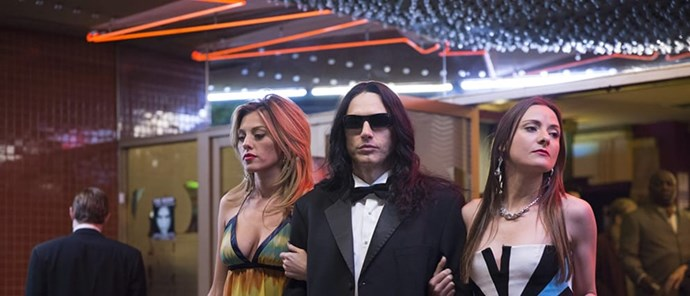 **FILM: *The Disaster Artist*** <br><br> This biographical comedy-drama was produced and directed by James Franco, and chronicles the making of 2003's *The Room*, a film by Hollywood outsider Tommy Wiseau that's been panned as one of the worst movies ever made. <br><br> **Awards include:** Best Performance by an Actor in a Motion Picture – Musical or Comedy for James Franco at the Golden Globes. It was also nominated for Best Motion Picture – Musical or Comedy. <br><br> **How to watch:** *The Disaster Artist* was released in cinemas on November 30 so screenings may be limited.