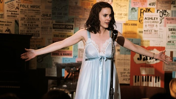 """**TV SHOW: *The Marvelous Mrs. Maisel*** <br><br> From the creator of *Gilmore Girls*, this eight-part musical series follows the life of Miriam 'Midge' Maisel, a young jilted housewife who pursues a career in stand-up comedy after her husband leaves her in the 1950s. <br><br> **Awards include:** Best TV Series – Musical or Comedy and Best Performance by an Actress in a TV Series – Musical or Comedy for Rachel Brosnahan at the Golden Globes. (You may recognise Brosnahan from her very different role in *House of Cards*.) <br><br> **How to watch:** You can watch the [first episode in full here](https://www.youtube.com/watch?v=w_dGfLxHv1o