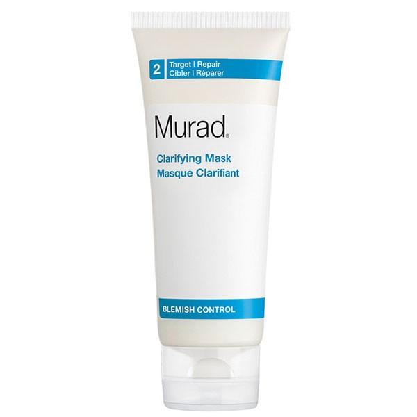 "**ACNE PRONE** <BR><BR> Murad's natural clay-based mask deeply cleans and minimises breakouts, through a combination of clays that draw out impurities and absorb excess oil. It also reduces redness and gives the skin a healthy looking glow, while remaining shine-free. <br><br> MURAD Clarifying Mask, $68, at [Sephora](https://www.sephora.com.au/products/murad-clarifying-mask/v/default|target=""_blank"")."