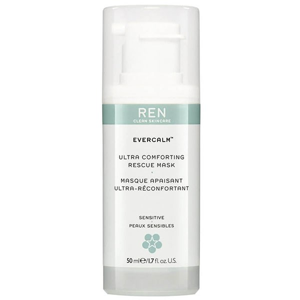 "**SENSITIVE** <br><br> Ren's Evercalm Ultra Comforting Rescue mask soothes and instantly provides relief to redness, irritation and blotchiness. So, if you have sensitive-prone skin, this rescue mask is formulated with mushroom extract to instantly calm and moisturise.  <br><br> REN Evercalm Ultra Comforting Rescue Mask, $52, at [MECCA](https://www.mecca.com.au/ren/evercalm-ultra-comforting-rescue-mask/I-026273.html?cgpath=skincare-treatment-masks |target=""_blank"")."