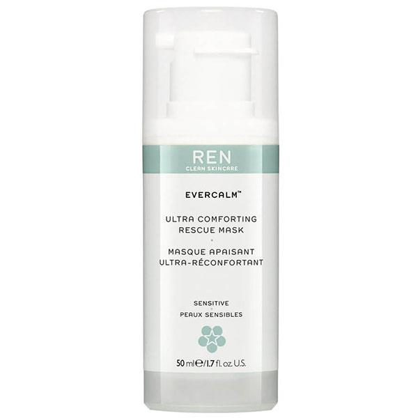 "**SENSITIVE** <br><br> Ren's Evercalm Ultra Comforting Rescue mask soothes and instantly provides relief to redness, irritation and blotchiness. So, if you have sensitive-prone skin, this rescue mask is formulated with mushroom extract to instantly calm and moisturise.  <br><br> **Evercalm Ultra Comforting Rescue Mask by REN Clean Skincare, $52 at [MECCA](https://www.mecca.com.au/ren/evercalm-ultra-comforting-rescue-mask/I-026273.html?cgpath=skincare-treatment-masks |target=""_blank"")**"